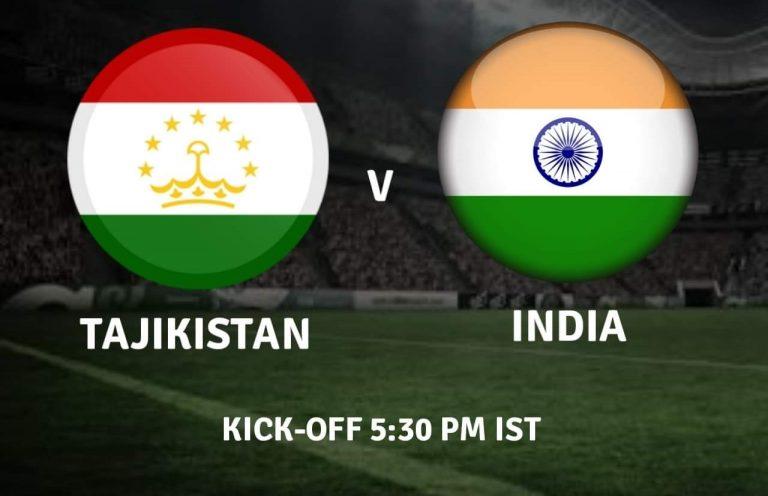 How to watch India U23 vs Tajikistan U23 : Step by Step.