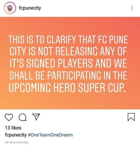 FC Pune City makes a Big Statement about the club's immediate future img 20190304 wa000828852179600472308271.