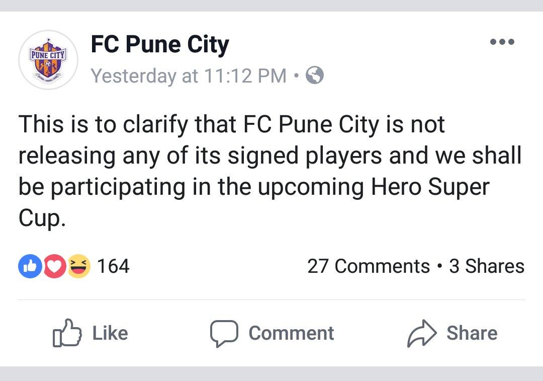 FC Pune City makes a Big Statement about the club's immediate future screenshot 20190304 09101225673848456480313611.