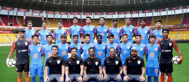 India U15 to play against Mexico, Slovenia and the USA in Italy.