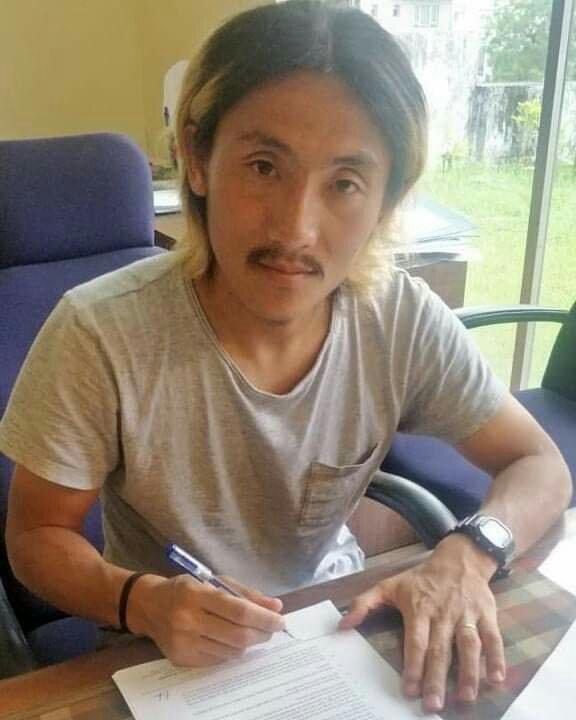 Katsumi Yusa signs for Chennai City FC fb img 15553012534751685590988