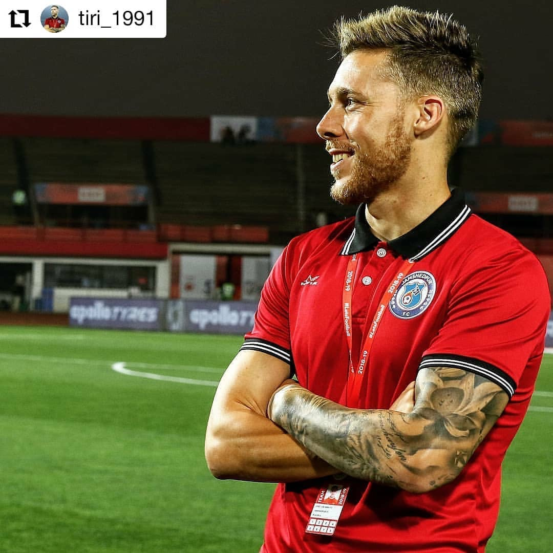 Tiri hemself conform that he will stay at Jamshedpur fc for one more season. img 9240 2