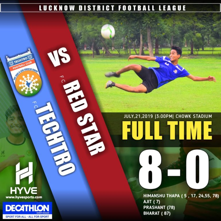 TECHTRO FOOTBALL CLUB ANNOUNCED THEMSELVES WITH A 8-0 VICTORY OVER REDSTAR