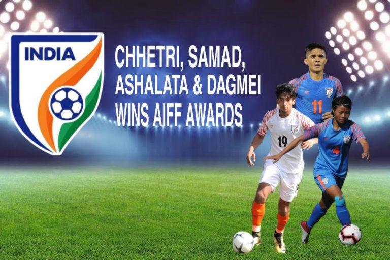 Chhetri,Sahal, Ashalata and Dangmei wins AIFF Awards