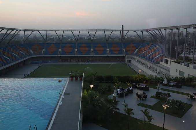 Know all about Ahmedabad brand new football arena!!