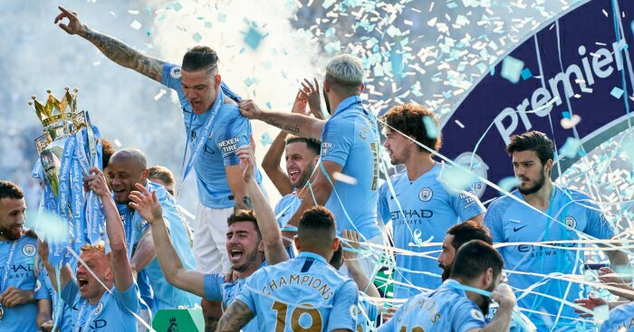 Importance of Longer League/ Unified League - Part 1 manchester city celebrate premier league title1885107388