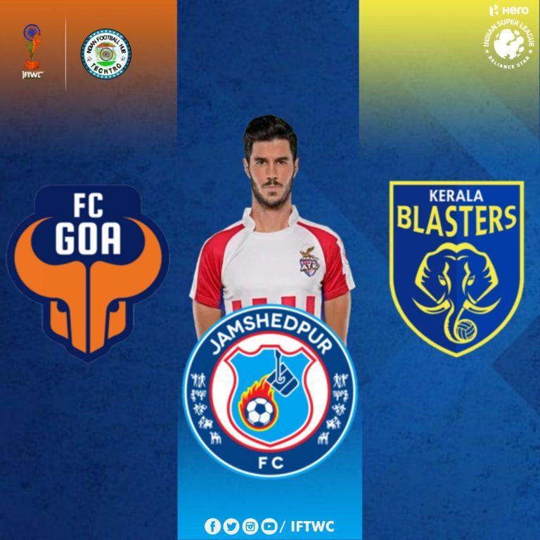 Edu Garcia in the spotlight for KBFC, JFC and FC Goa.