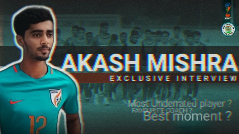 """Akash Mishra – """"Favourite player is Sergio Ramos!!"""" 