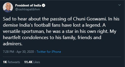 Condolences pour in as legendary Chunni Goswami passes away img 20200430 wa00234140345898860782012