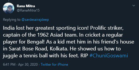 Condolences pour in as legendary Chunni Goswami passes away img 20200430 wa00317713710029801698906