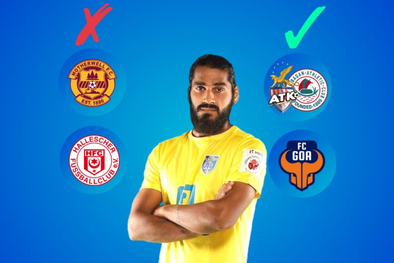 India or Abroad- Which can be more feasible for Sandesh Jhingan?