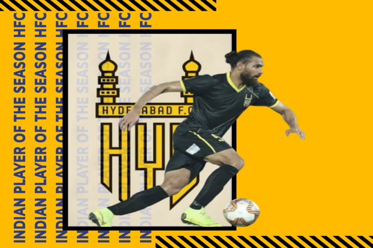 Indian player of the season – Hyderabad FC