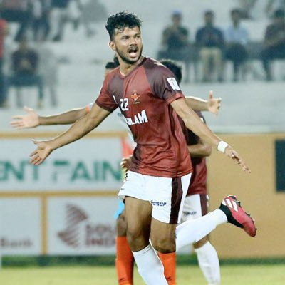 "Shibil Muhammed - ""My Aim is to play in the ISL Soon."" EQKZWcvVUAAAzIP"