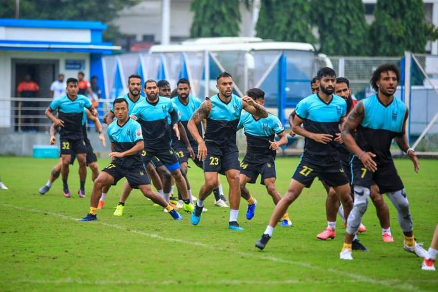 Hyderabad FC Off-load 10 Players From Their Squad - Official Hyderabad FC Twitter 571 855