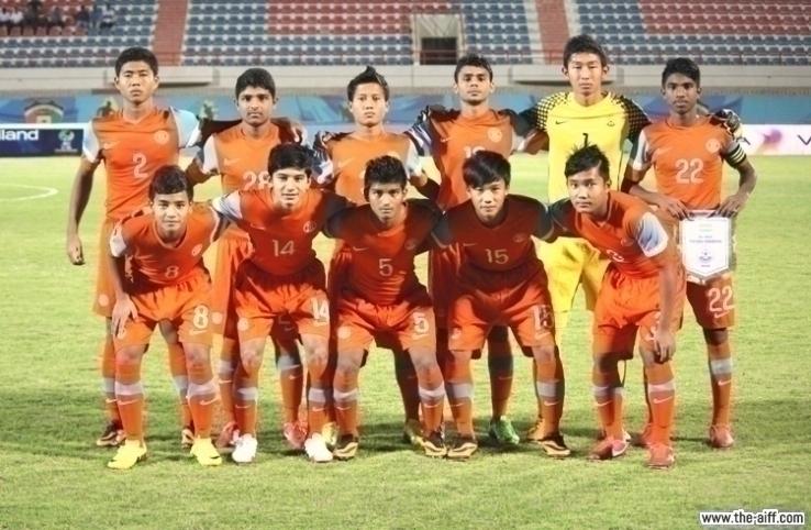 India U16 2014