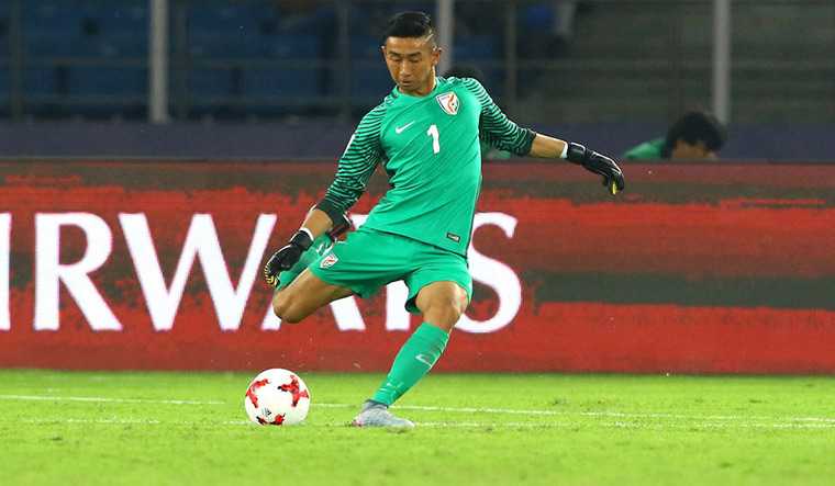 Where are the players of the Indian team of AFC U-16 Championship 2014, now? dheeraj singh mohammed shafiq