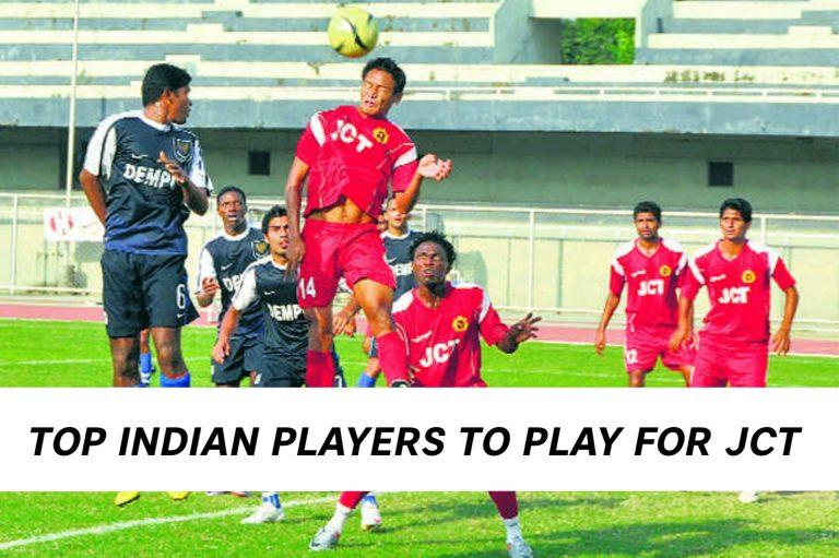 Top Indian Players who played for JCT FC