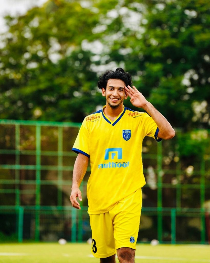 Sahal signs contract extension with Kerala Blasters - Official 69689995 517693038984745 891802831299200879 n