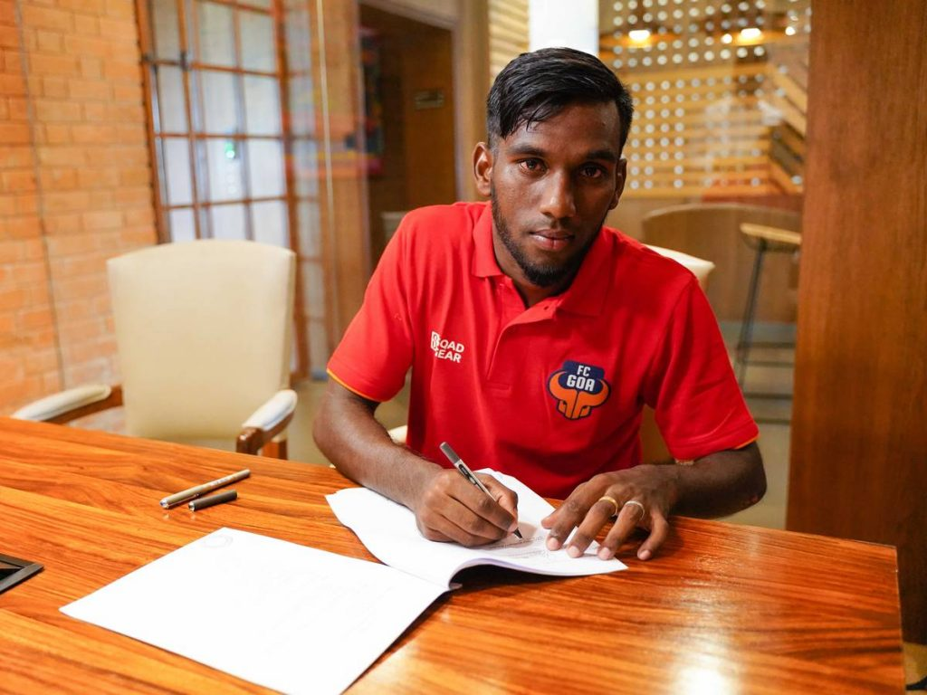 "Alexander Romario Jesuraj:-""I Always Wanted To Play For FC Goa"" Alex Romario Jesuraj"