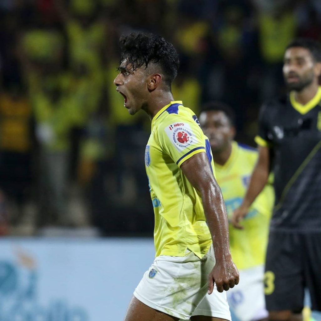 Official-Rahul K.P. to stay at Kerala Blasters till 2025 101165154 248510219590964 4673934002815660363 n