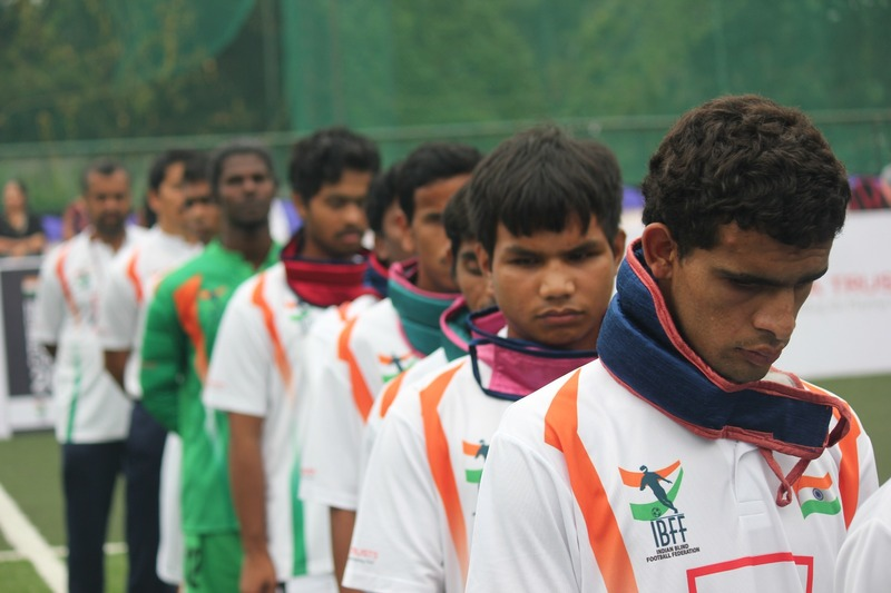 Indian Blind football team