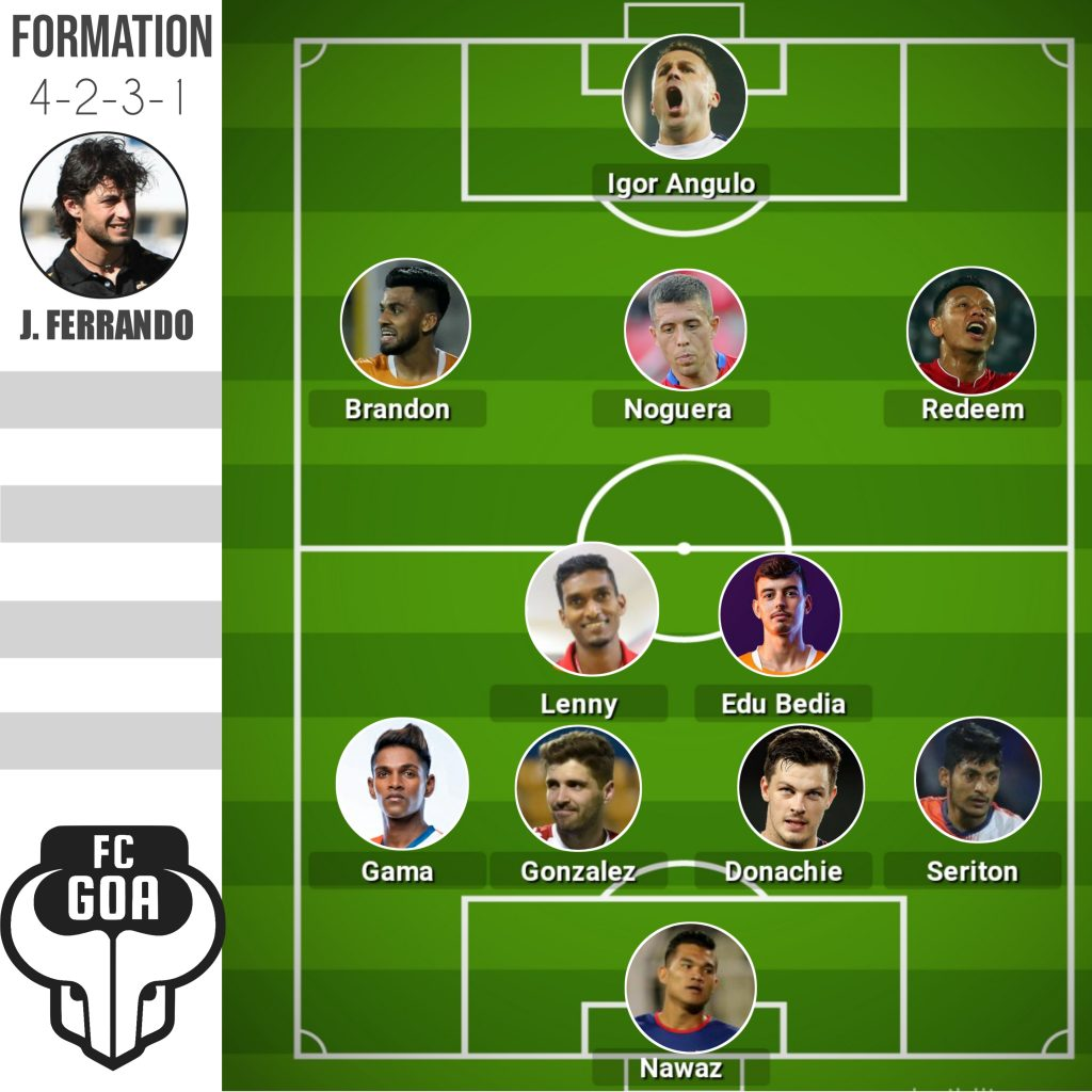 ISL - How would FC Goa lineup in the 7th edition 20201002 095356
