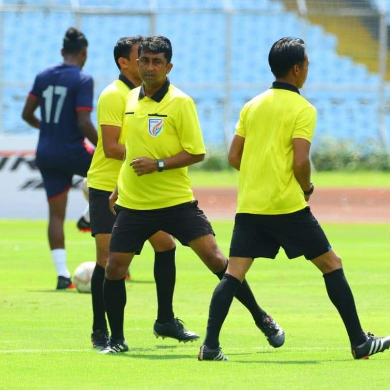 Bhawanipore FC tied up with Mohammedan SC as they notch a 1 - 2 win against the Garhwal Football Club FB IMG 1602679674161