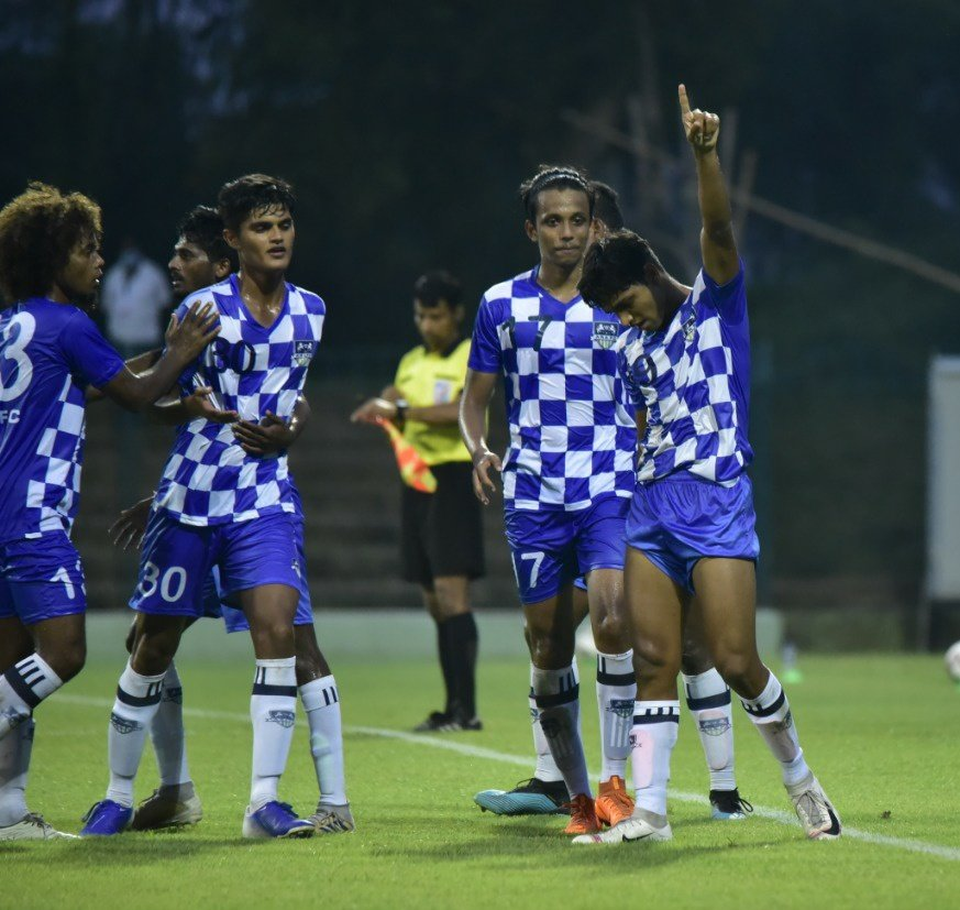 Match Report- ARA's Pratik Swami scores as ARA and FC Bengaluru United share points IMG 20201014 215836