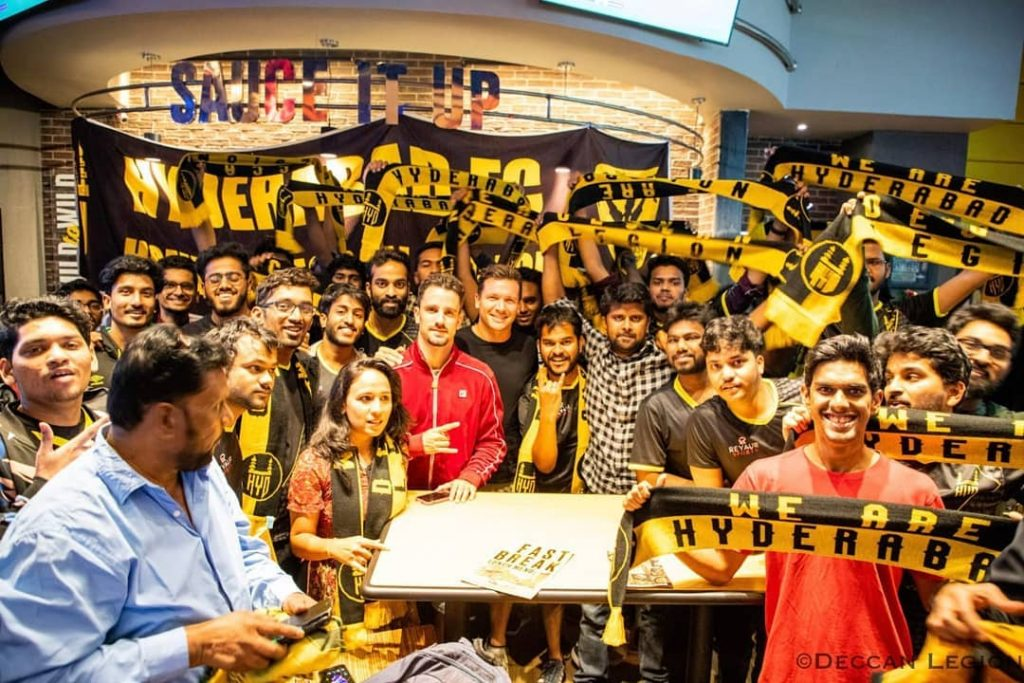 The 12th Men- How Hyderabad FC and Deccan Legion are reviving the lost glory of football in Hyderabad hfc supporters 2