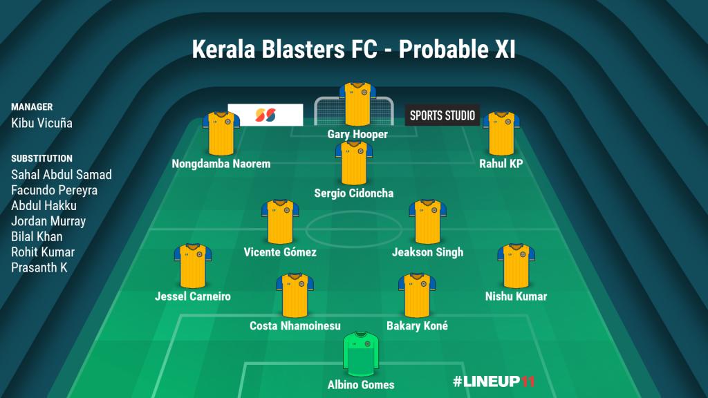 Match Preview: Kerala Blasters FC vs ATK Mohun Bagan LINEUP111605691395282