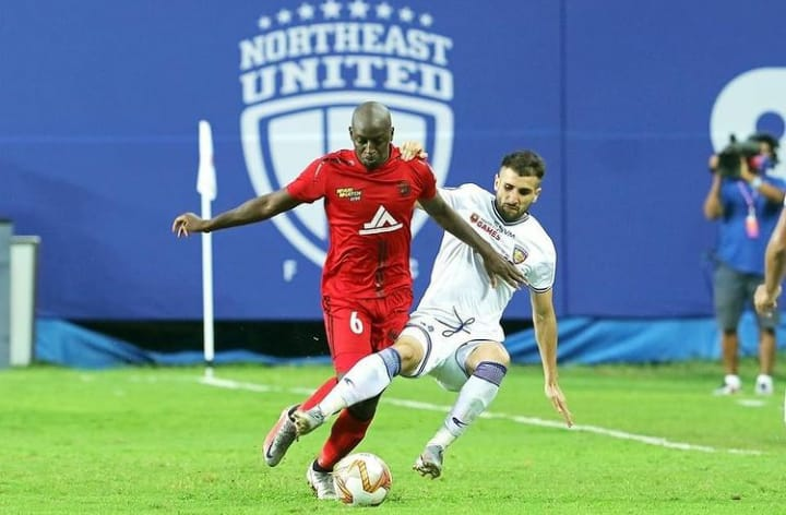 Khassa Camara - I made the best decision of my career by joining NorthEast United FC IMG 20201231 WA0002