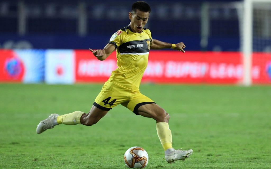 Jamshedpur FC vs Hyderabad FC - Preview, Team News, Lineup and more Asish Rai Hyderabad FC scaled 1