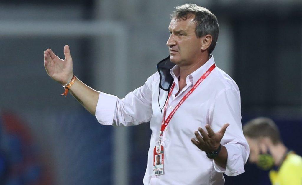 Csaba Laszlo- If you can't score goals, you can't win the games Csaba