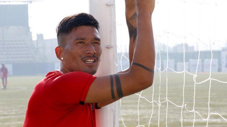 Kiran Chemjong's season fixtures in I-League 2021