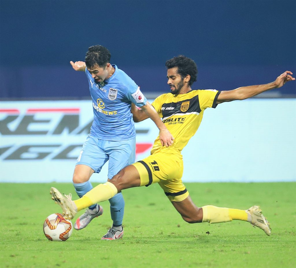 Indian National Team - Ishan Pandita and Akash Mishra make the cut as Igor Stimac announces 35 probables for friendlies akash mishra once again impressed in hfc defence isl 1601newsroom 1610815545 191