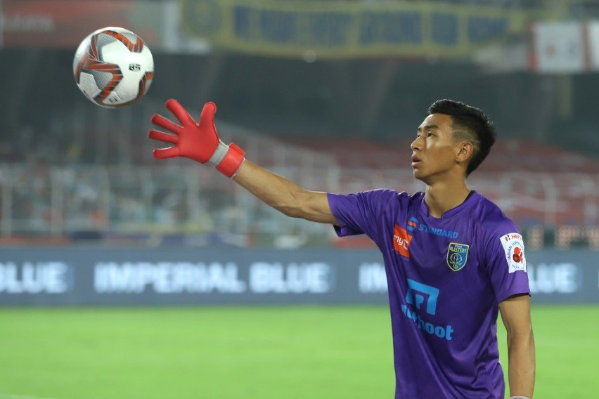 Dheeraj Singh - Hopefully, one day, I'll be seen fit to fill in Amrinder's and Gurpreet's boots Dheeraj Singh Moirangthem