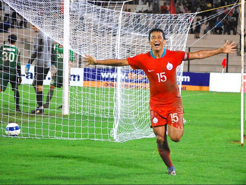 Where is the AFC Challenge Cup winning Indian team of 2008, Now? bhutia