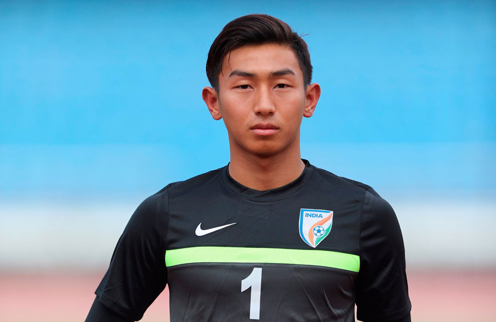 Dheeraj Singh - Hopefully, one day, I'll be seen fit to fill in Amrinder's and Gurpreet's boots india u17 dheeraj singh