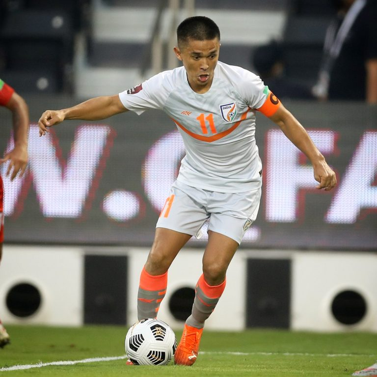 Sunil Chhetri talks about improving fitness standards and the role of seniors
