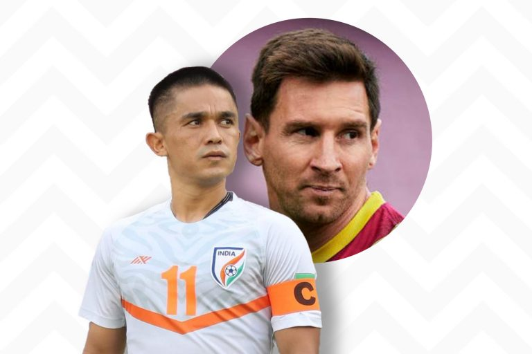 Sunil Chhetri – There's no comparison between Messi and me