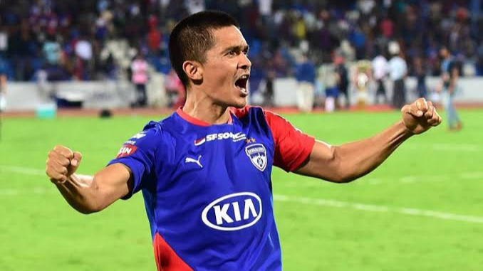 Official – Sunil Chhetri signs 2 years contract extension with Bengaluru FC