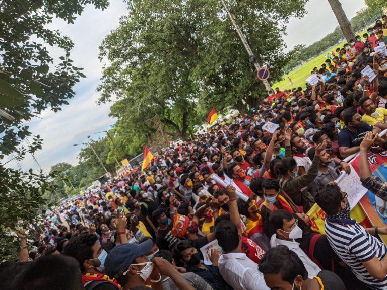 Fans vs Officials – East Bengal Club turns War-front
