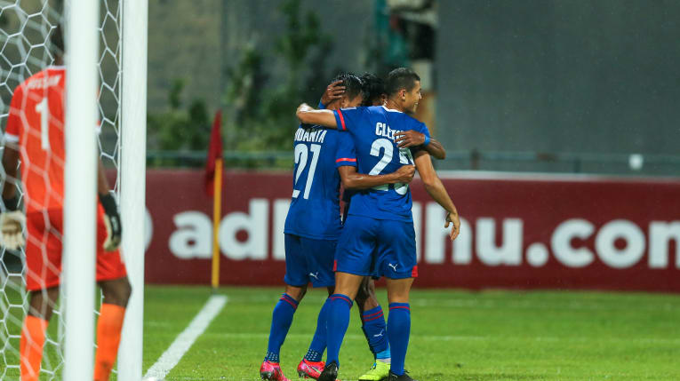 Match Report – Bengaluru FC hammers 6 goals against Maziya to end the campaign on a positive note