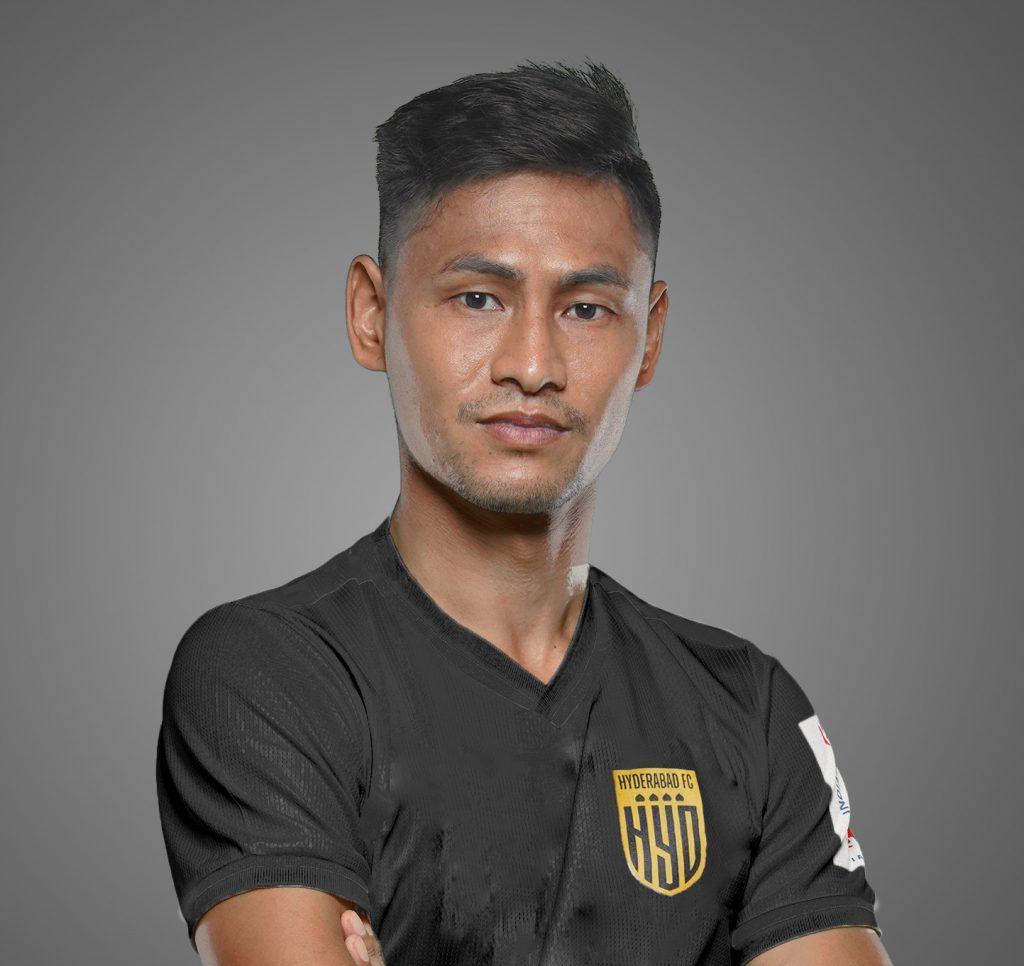 Official - Hyderabad FC signs Pritam Soraisam HFC Pritam